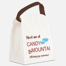 Candy Mountain Canvas Lunch Bag