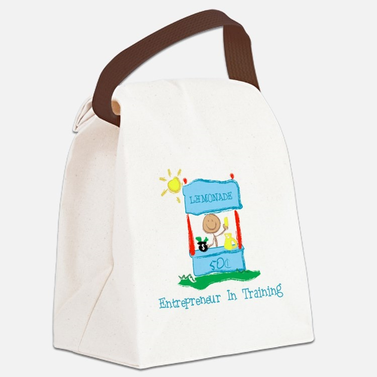 Entrepreneur In Training Canvas Lunch Bag