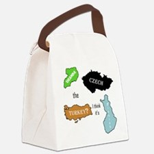 Cool Geography teacher Canvas Lunch Bag