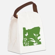 Green Oregon Canvas Lunch Bag