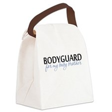 Bodyguard for my baby brother Canvas Lunch Bag