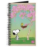 Snoopy and woodstock Journals & Spiral Notebooks