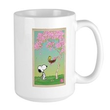 Woodstock in the Cherry Blossoms Mug