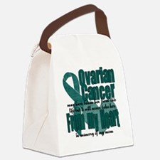Ovarian Cancer Mom Canvas Lunch Bag