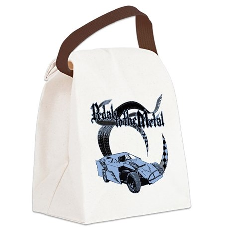 Dirt Modified - Blue Canvas Lunch Bag