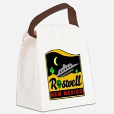 Roswell New Mexico Canvas Lunch Bag