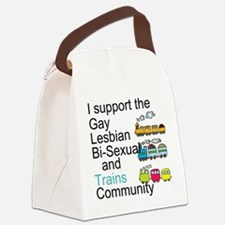 LGBT Ally Canvas Lunch Bag