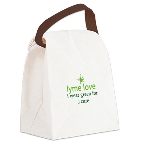 Wear Green for a Cure Canvas Lunch Bag