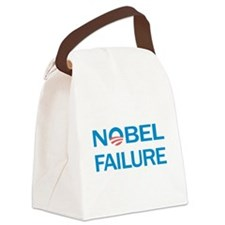 Nobel Failure Anti Obama Canvas Lunch Bag