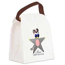 Nutcracker Mouse Canvas Lunch Bag