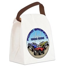 1966-1996 Broncos Canvas Lunch Bag