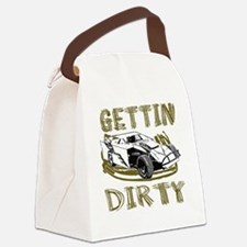 Gettin Dirty - Dirt Modified Canvas Lunch Bag