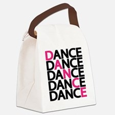 Cute Dance Canvas Lunch Bag