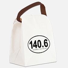 140.6 Ironman Triathlon Canvas Lunch Bag