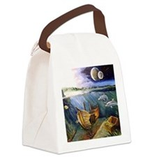 Unique Nelson Canvas Lunch Bag