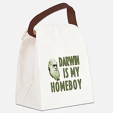 Darwin is my Homeboy Canvas Lunch Bag