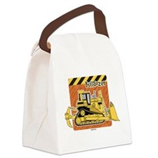 Unique Construction worker Canvas Lunch Bag
