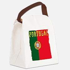 Unique Cristiano ronaldo Canvas Lunch Bag