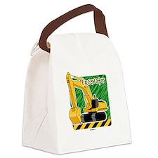 Cute Dump truck Canvas Lunch Bag