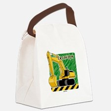 Cute Dump truck Canvas Lunch Bag