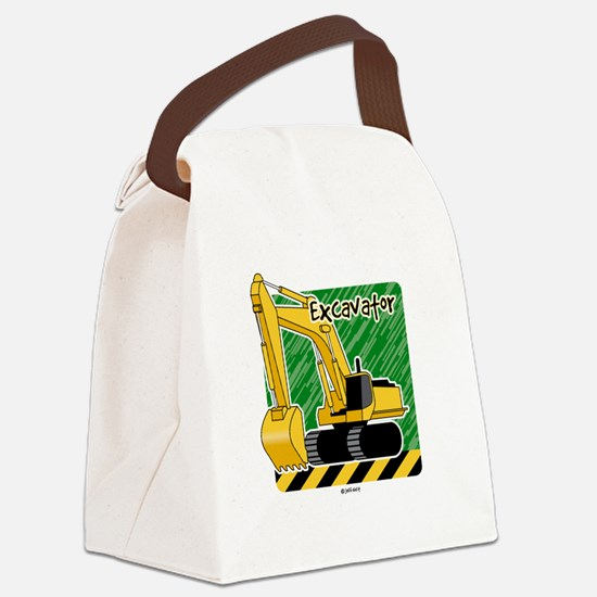 Cool Tractors Canvas Lunch Bag