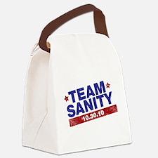 Cute Team fear Canvas Lunch Bag