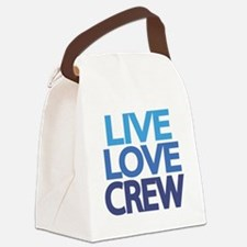 Unique Rowing crew Canvas Lunch Bag
