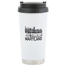 Baltimore Skyline Travel Mug