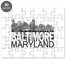 Baltimore Skyline Puzzle