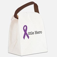 Little Hero - Epilepsy Canvas Lunch Bag