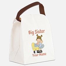 Big Sister Custom Canvas Lunch Bag