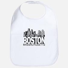 Boston Skyline Bib