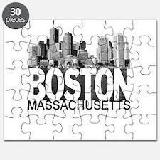 Boston Skyline Puzzle