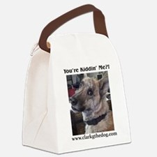 You're kiddin' me? Canvas Lunch Bag