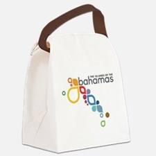 The Island of The Bahamas Canvas Lunch Bag