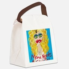 Mama needs a Cocktail Canvas Lunch Bag