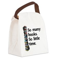 Cute Book Canvas Lunch Bag