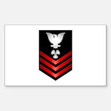 Navy Machinist's Mate First Class Decal