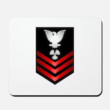 Navy Machinist's Mate First Class Mousepad