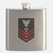 Navy Machinist's Mate First Class Flask