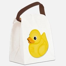 Rubber Ducky, Canvas Lunch Bag