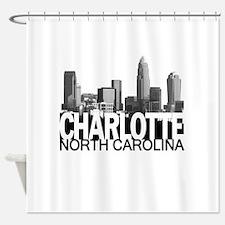 Charlotte Skyline Shower Curtain