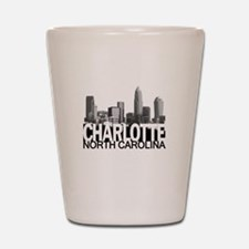 Charlotte Skyline Shot Glass