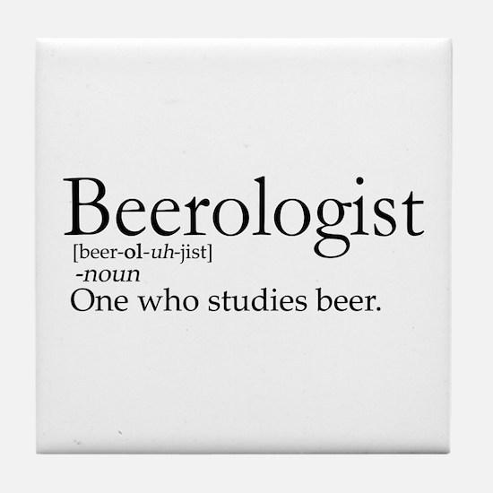 BeerologistDark.png Tile Coaster