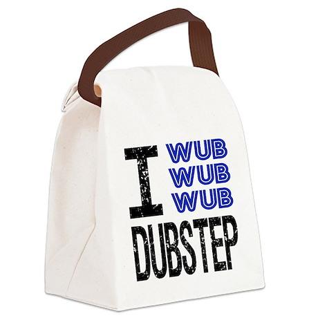 I Wub Dubstep Canvas Lunch Bag