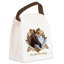 Funny Animal lovers Canvas Lunch Bag