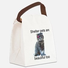 Shelter Pets Canvas Lunch Bag
