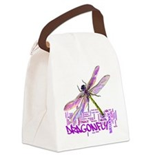 Dragonfly totem Canvas Lunch Bag