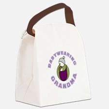 Babywearing Grandma Canvas Lunch Bag