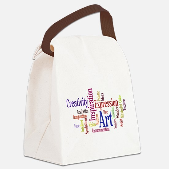 Artist Creative Inspiration Canvas Lunch Bag